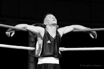 Gala de boxe, salle Jean-Bouin, Angers Boxing Club
